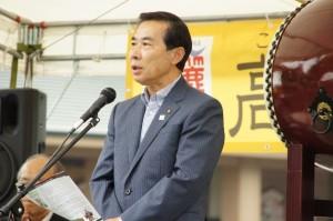 谷ケ﨑日高市長