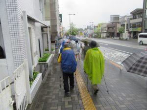 八王子市街を歩く